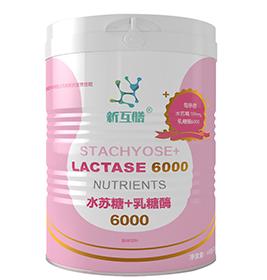 【新互膳】水苏糖+乳糖酶6000