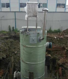 一体化预制提升泵站