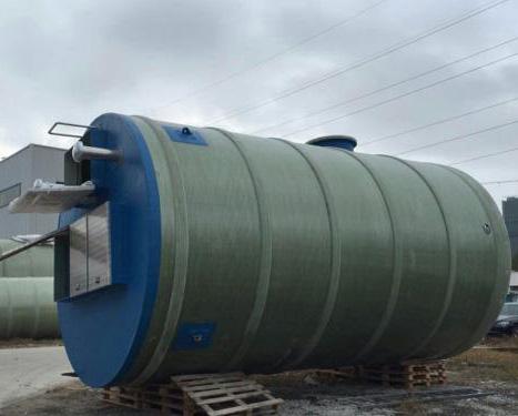 无锡一体化污水提升泵站