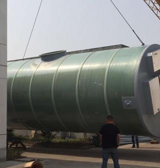 大型一体化污水提升泵站
