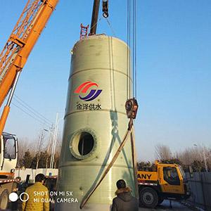 一体化小型污水提升泵站