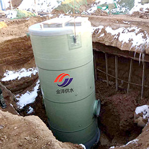 雨水提升一�w化泵站
