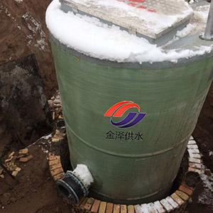 地埋一�w化污水提升泵站
