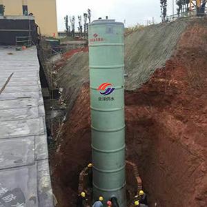 提升一�w化�A制泵站