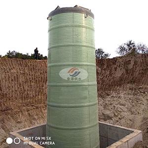 地埋式一体化污水提升泵站