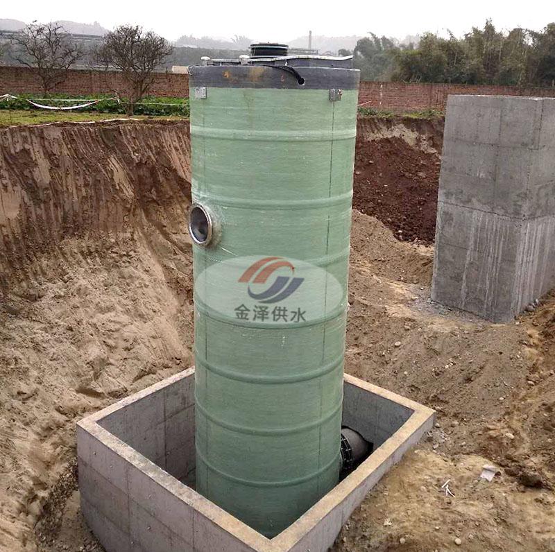 烟台一体化污水泵站 金泽厂家