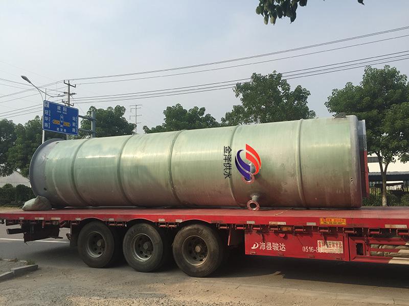 一体化污水提升泵站尺寸