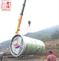 玻璃钢一体化污水泵站
