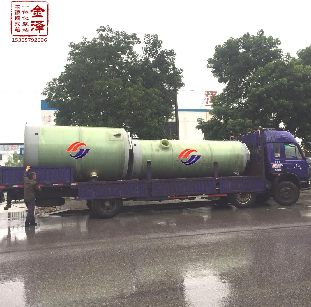 重庆一体化污水提升泵站