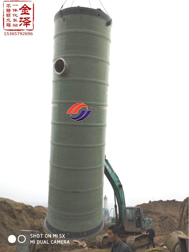 长沙一体化雨水提升泵站