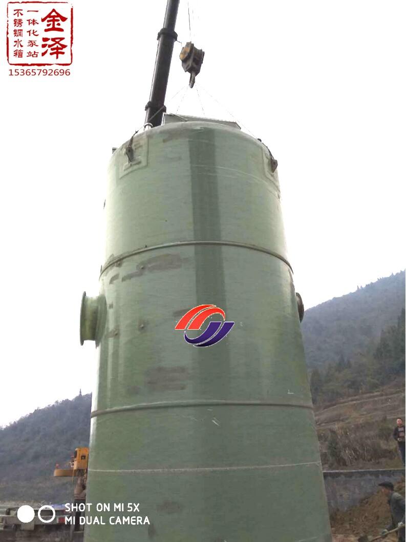 一体化污水提升泵站水泵品牌