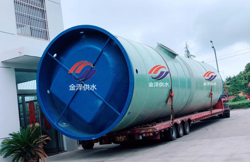 安徽一体化污水提升泵站指导安装
