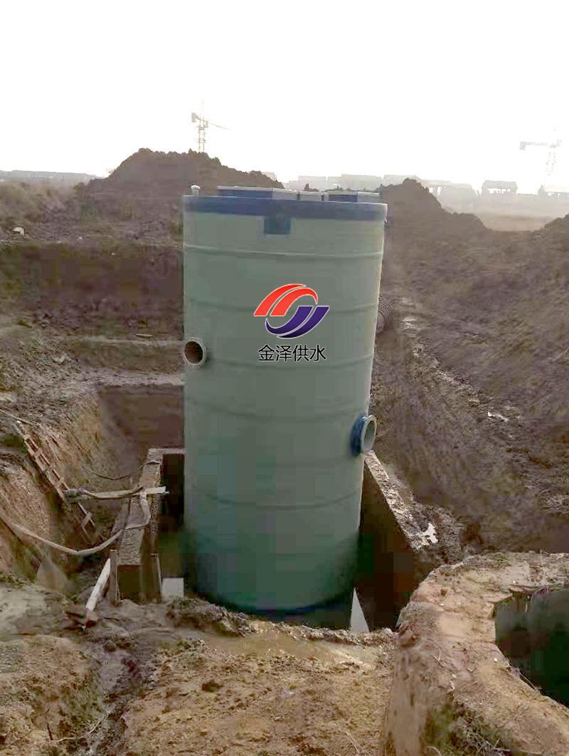 一体化污水提升泵站的实际应用