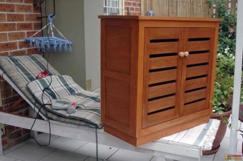 定制实木鞋柜