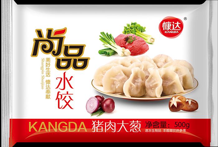 尚品猪肉大葱速冻水饺