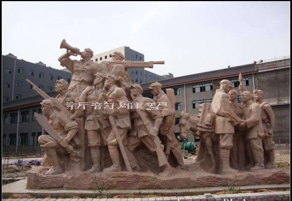 南昌水泥人物雕塑