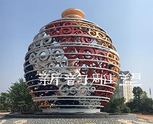 南昌体育运动雕塑