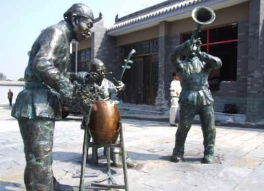 南昌铸铜雕塑