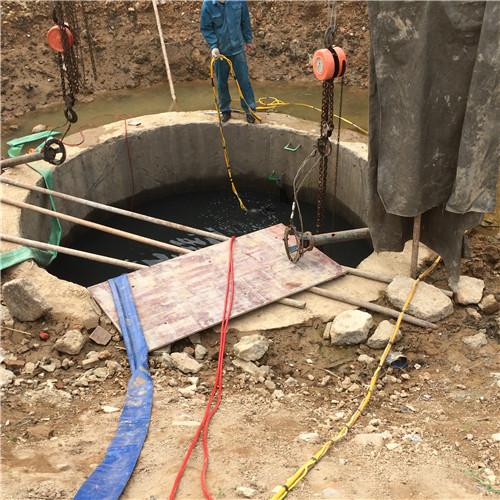 污水井水下拆除