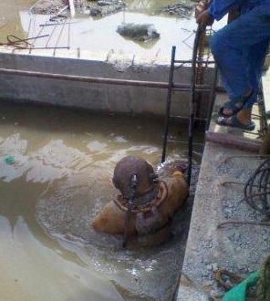 水池水下堵漏