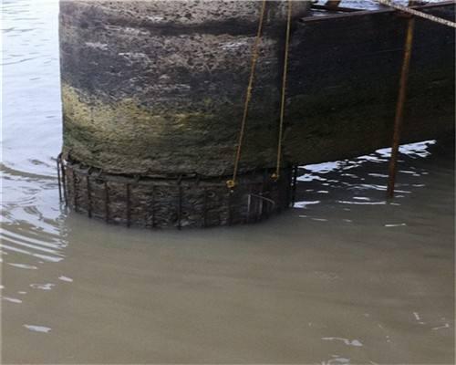 水下拆除钢管柱