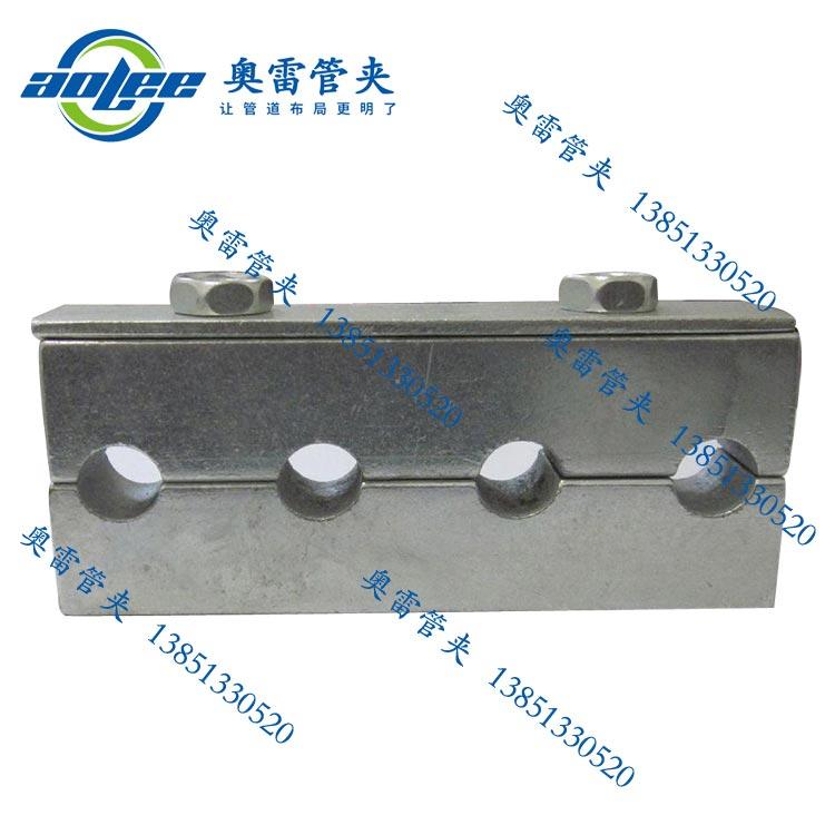轻型钢制管夹