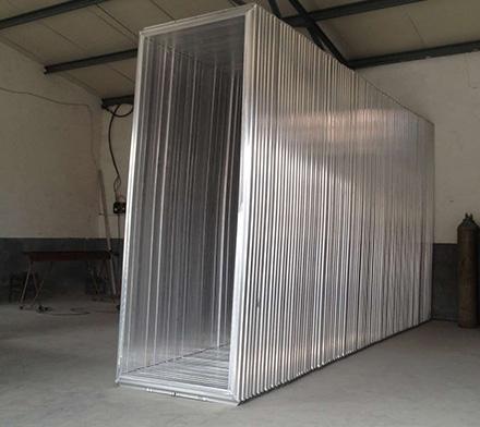 平网机印花网框