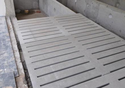 水泥混凝土漏缝地板
