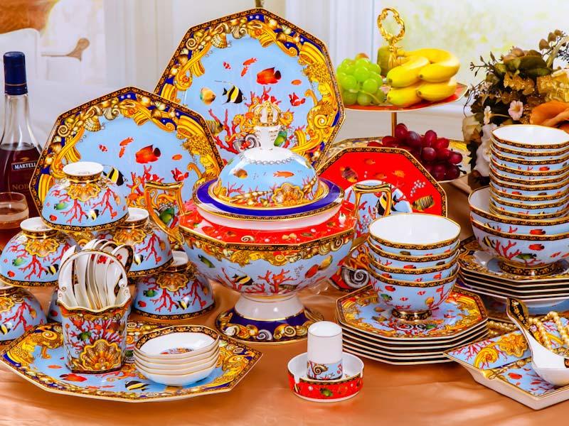 景德镇高白瓷餐具