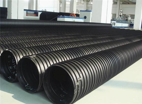 HDPE塑鋼纏繞管