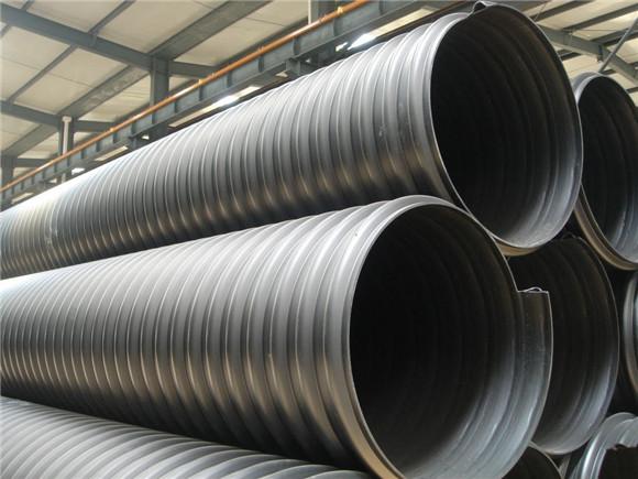 钢带增强pe螺旋波纹管价格