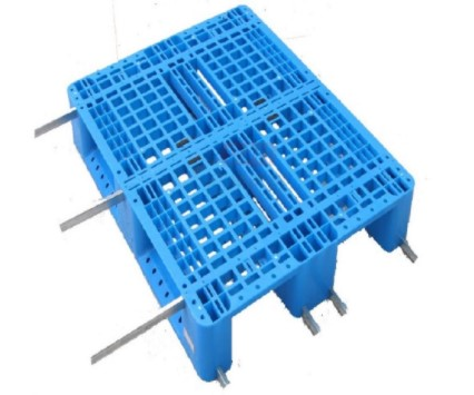 1210C川字内置钢管塑料托盘