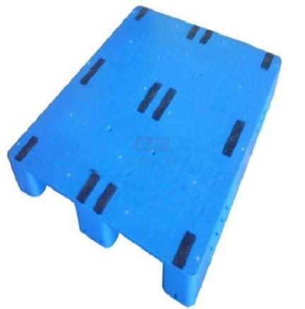 平板川字可内置钢管塑料托盘