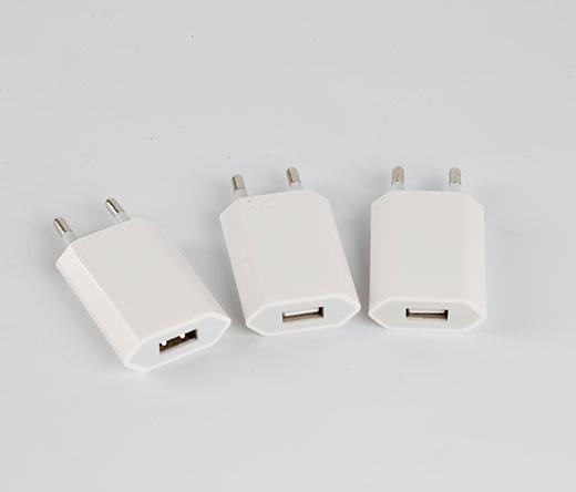 4代扁平欧规USB充电器