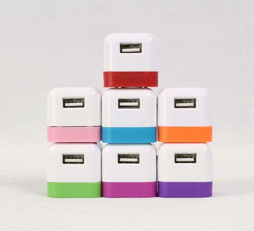 骰子足A充电头单USB充电器