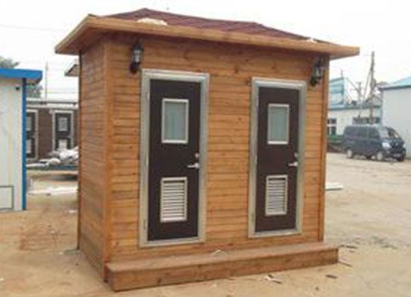 贵州防腐木厕所