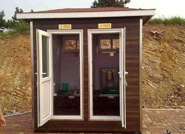 贵州景区防腐木厕所