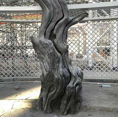水泥树定做