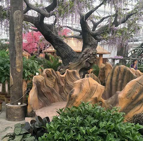 水泥树定做厂家