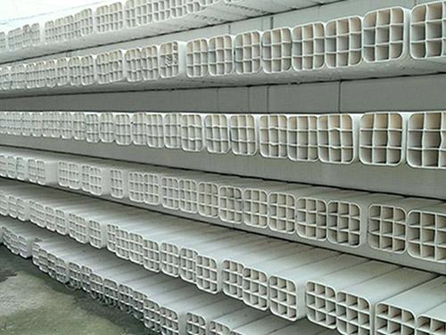 PVC九孔格栅管
