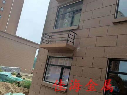 山东铝合金空调护栏