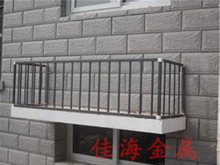 潍坊铝合金空调护栏
