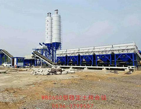 WCB600型稳定土拌合站