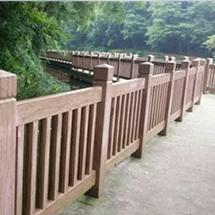 潍坊仿木护栏