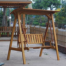 潍坊防腐木吊椅