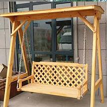 室外防腐木吊椅
