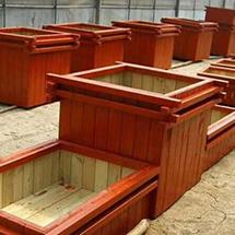 潍坊防腐木花箱