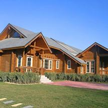 景观防腐木屋