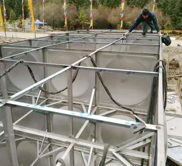 不鏽鋼水箱安裝