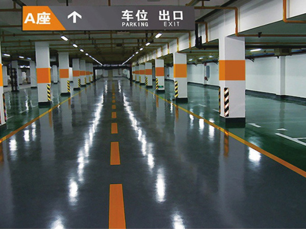 贵州停车场树脂地坪